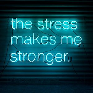 stress neon blogg